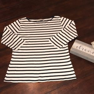 Zara scoop neck shirt